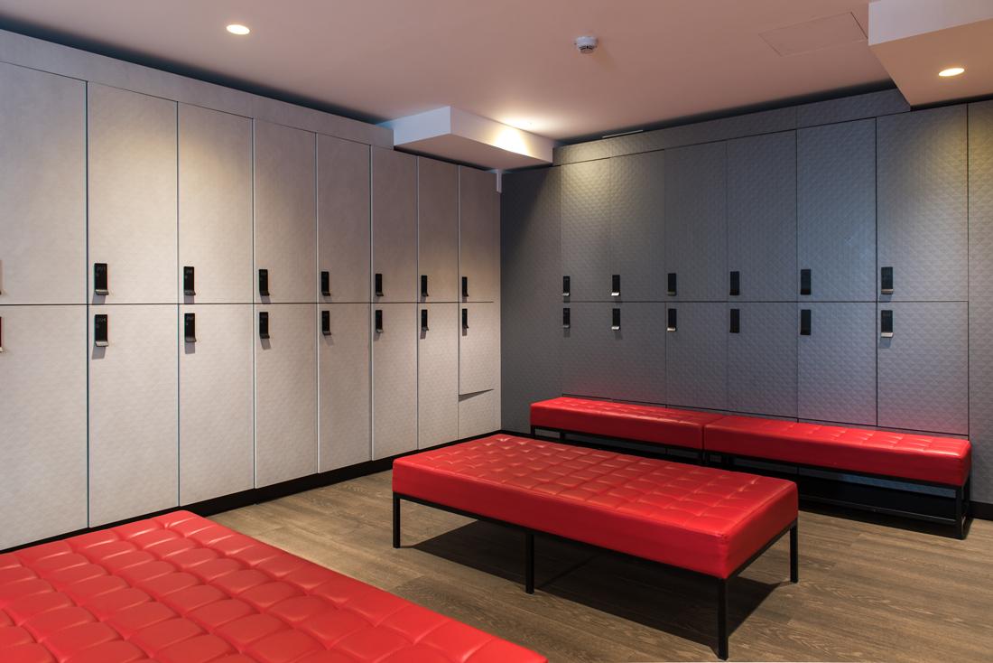 Locker Rooms